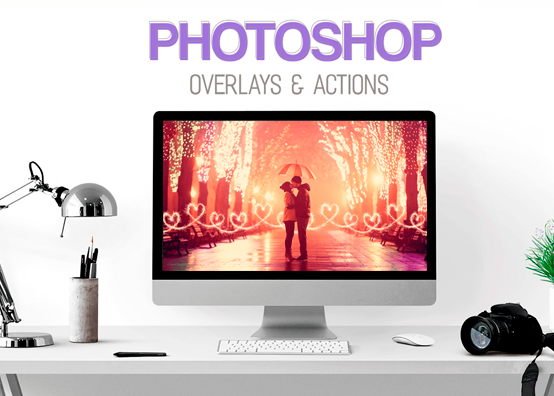 Suporte Como Instalar Overlays e Actions no Photoshop